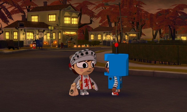 Costume Quest Overworld