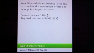4 billion Microsoft Points