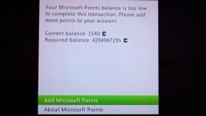4 billion Microsoft Points