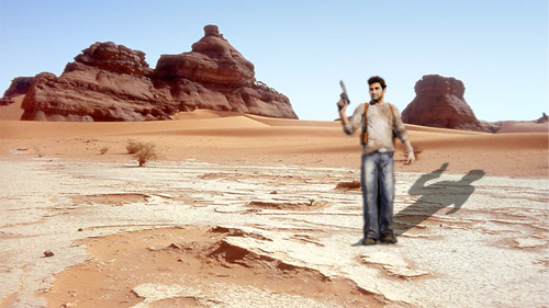 Nathan Drake Faces Deceit And The Desert In Uncharted 3 Drake S