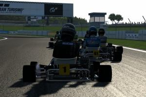 Gran Turismo 5 kart racing