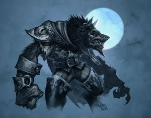 Worgen from Cataclysm