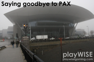 Goodbye PAX - playwisegaming.com