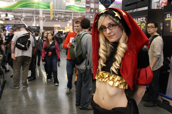 PAX cosplayers - playwisegaming.com