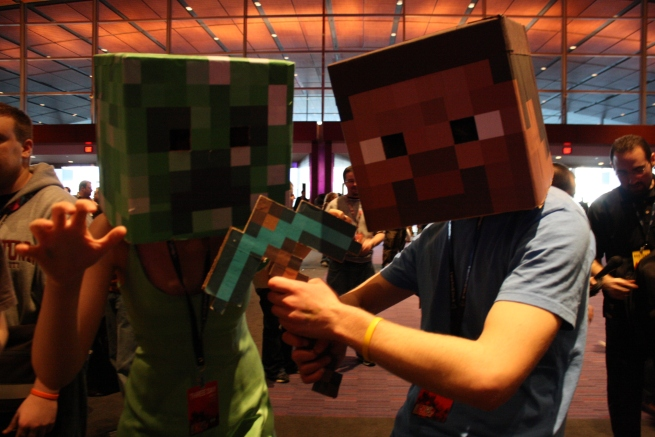 Minecrafters at PAX - playwisegaming.com